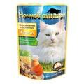 Ночной Охотник Консервы для кошек КУРИЦА мясные кусочки в сырном соусе