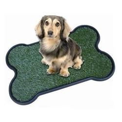 AKC(American Kennel Club) Туалет для собак Bone Shape с искусственной травкой