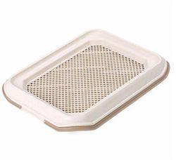 Smartpet Туалет для собак под пеленку с решеткой 48,5х37х5см