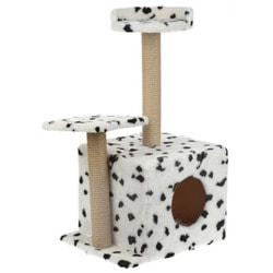Smartpet Домик для кошек с когтеточками и полочкой-лежанкой Далматинец