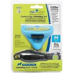 Furminator FURflex Комбо против линьки для собак средних пород