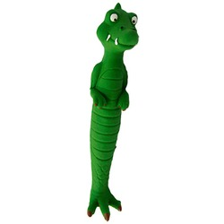 MAJOR Игрушка для собак Крокодил с пищалкой латекс