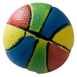 MAJOR Игрушка для собак Мяч разноцветный с пищалкой латекс