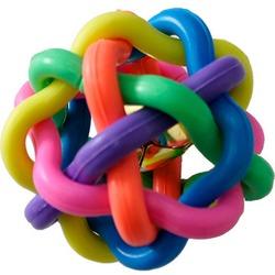 Антицарапки Игрушка для собак Плетеный мяч ПВХ