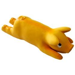MAJOR Игрушка для собак Поросенок оранжевый латекс