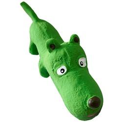 MAJOR Игрушка для собак Собака зеленая с пищалкой латекс