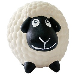 MAJOR Игрушка для собак Овечка Долли с пищалкой латекс