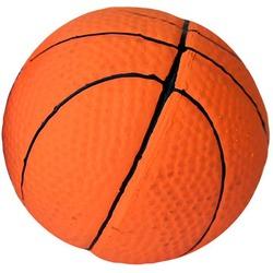 Игрушка для собак Мяч баскетбольный с пищалкой латекс