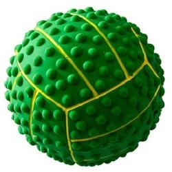 MAJOR Игрушка для собак Мяч с пищалкой латекс