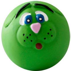 MAJOR Игрушка для собак Мяч-мордочка с пищалкой латекс