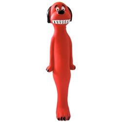 MAJOR Игрушка для собак Собака с пищалкой латекс