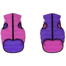 AiryVest Жилетка двусторонняя для собак розово-фиолетовая