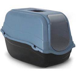 Beeztees Туалет-домик Romeo для кошек из эко-пластика без фильтра 57*39*41см
