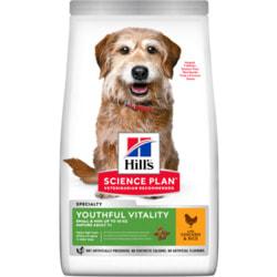 Сухой корм HILL'S Youthful Vitality для пожилых собак мелких пород с курицей