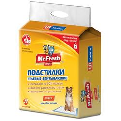 Mr.Fresh Super. Пеленки повышенной впитываемости