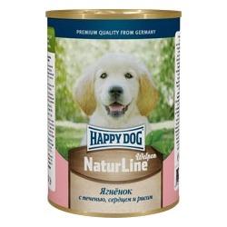 Happy Dog Консервы для щенков с аппетитным ягненком, печенью, сердцем и рисом