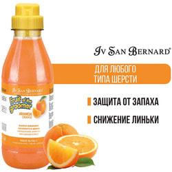 Iv San Bernard Fruit of the Grommer Orange Шампунь для слабой выпадающей шерсти с силиконом