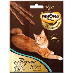 Мнямс Деликатес лакомые палочки 9 см для кошек с тунцом