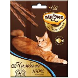 Мнямс Деликатес лакомые палочки 9 см для кошек с камбалой