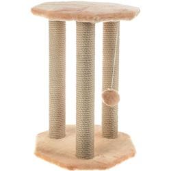 Smartpet Когтеточка для кошек Ротонда с игрушкой, джут 35х35х50см
