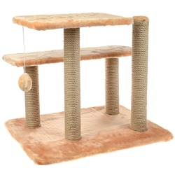 Smartpet Игровой комплекс для кошек из когтеточек, лежанок и игрушки, 61х41х53см