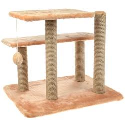 Smartpet Игровой комплекс для кошек из когтеточек, лежанок и игрушки, 40х60х40см