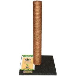 Homecat Когтеточка-столбик для кошек Джут+Ковролин 29,5х29,5х50см