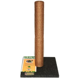 Homecat Когтеточка-столбик для кошек МАКСИ 41х41х63см джут+ковролин
