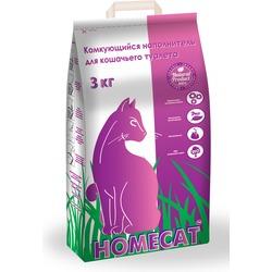 Homecat Комкующийся наполнитель для кошачьего туалета
