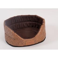 Katsu Лежак для животных с бортиком Skaj коричневый