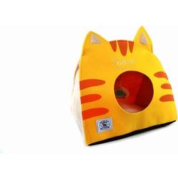 Katsu Домик поролоновый для котят и кошек Царство Морфея желтый
