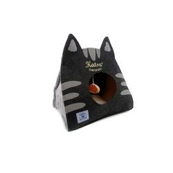 Katsu Домик поролоновый для котят и кошек Царство Морфея серый
