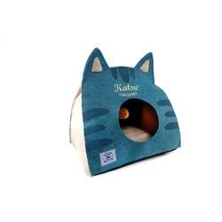 Katsu Домик поролоновый для котят и кошек Царство Морфея синий