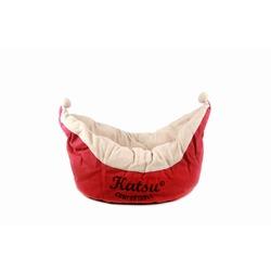 Katsu Лежак - корзинка Колыбель для собак и кошек красный
