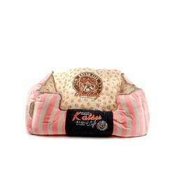 Katsu Лежак - диван Селяви для собак и кошек светло-розовый