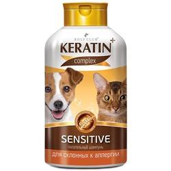 Keratin+ Шампунь Sensitive для аллергичных собак и кошек