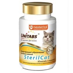 Unitabs Витамины для стерилизованных кошек SterilCat с Q10