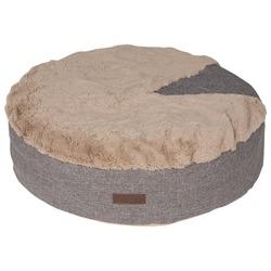 Lion Лежанка пухлик для собак Релакс коричневая