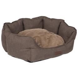 Lion Лежак для собак и кошек Бруно коричневый