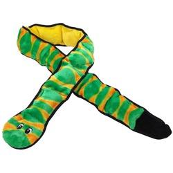 OH Игрушка для собак Invinc Змея 12 пищалок 1,5 метра