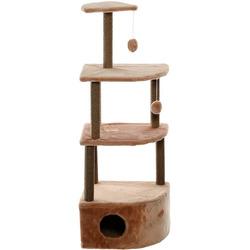 Smartpet Домик-когтеточка для кошек «Угловой 4-х ярусный» 55х48х158см