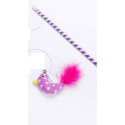 Smartpet Игрушка для кошек Дразнилка с крупной меховой мышкой на веревке