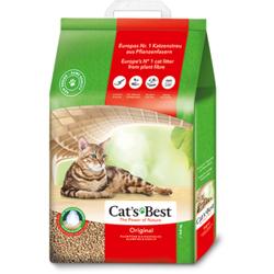 Cat`s Best Original - Наполнитель древесный комкующийся для кошачьих туалетов