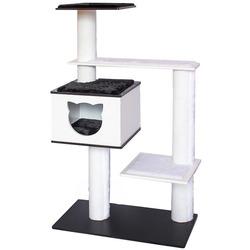 Дарэлл Комплекс 4х-уровневый для кошек Домино МДФ, игр. Мех, ковролин