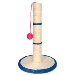 Triol Когтеточка-столбик с шариком для котят и взрослых кошек