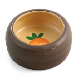 Triol Миска керамическая Морковка для грызунов