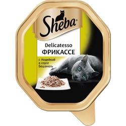Sheba Консервы для кошек Delicatesso фрикассе Индейка в соусе бешамель