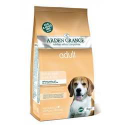 Arden Grange Сухой корм для собак со Свининой и рисом