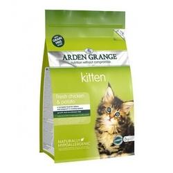 Arden Grange Корм беззерновой для котят с Курицей и картофелем