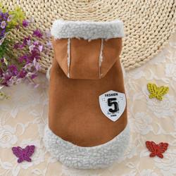 """Smartpet Дубленочка для маленьких собак """"Fashion 5"""" коричневая"""